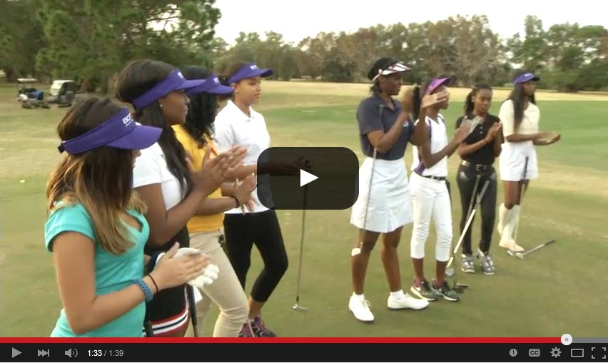 Girls On The Green Tee Tampa Junior Golf Lessons