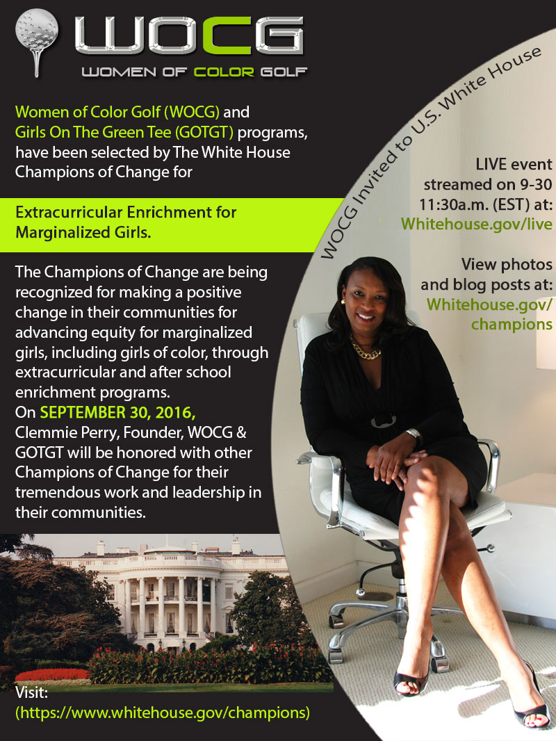 Clemmie C Perry honored at the White House