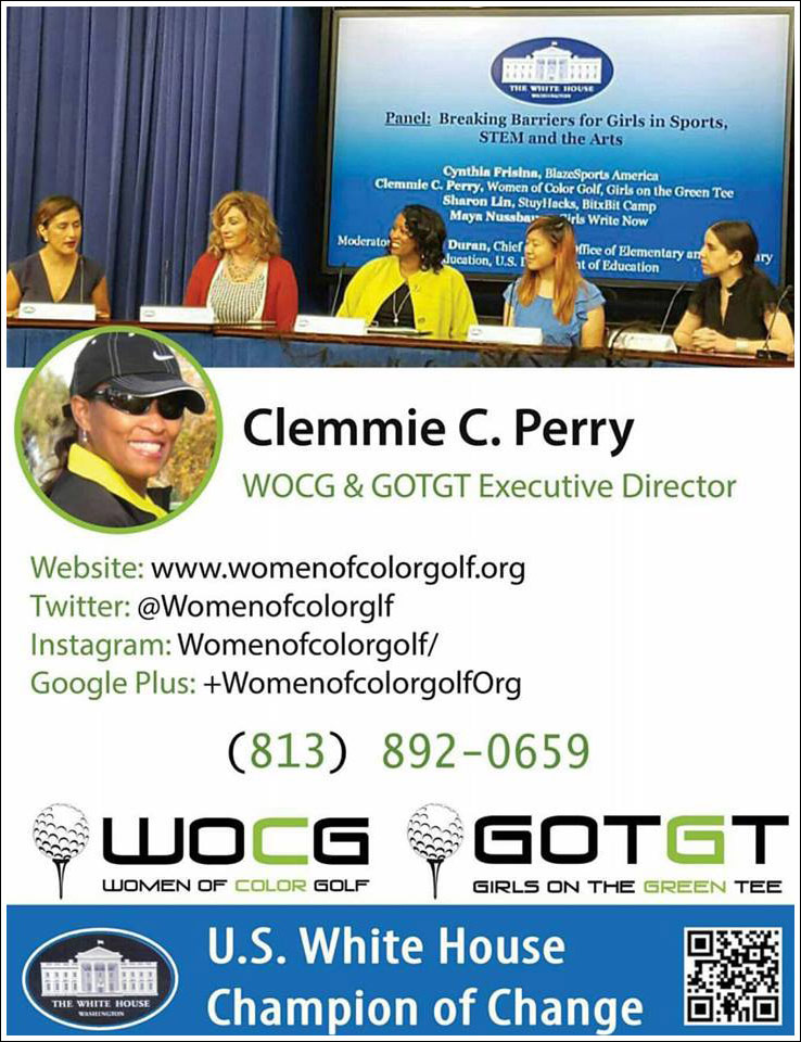 Clemmie C Perry U.S White House Champion Of Change 2016