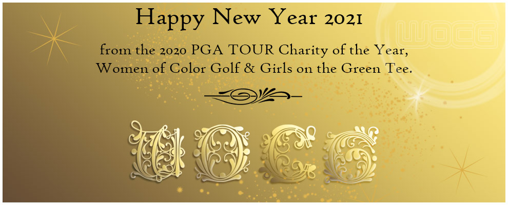 Women Of Color Golf wishes you a  Happy New Year 2021