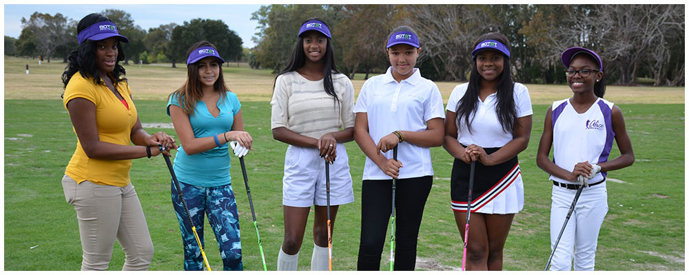 Girls On The Green Tee Tampa from Women Of Color Golf