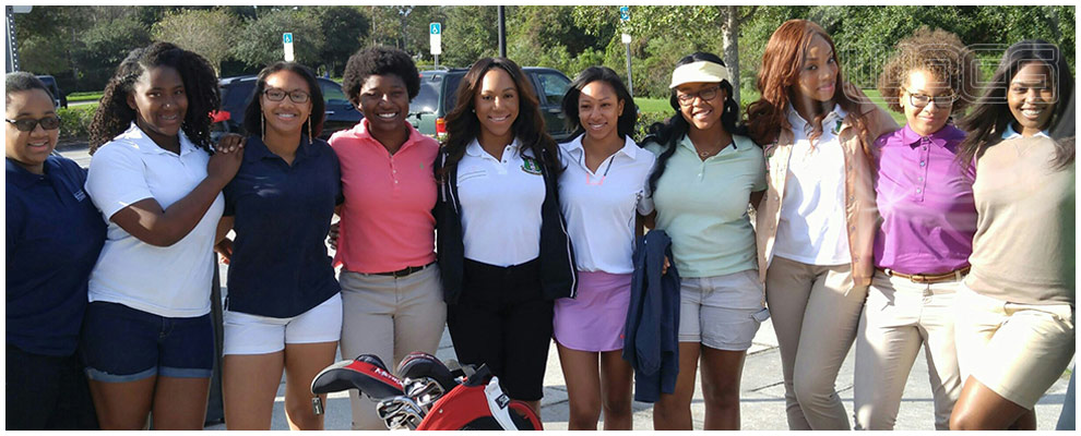 Univ. Of South Florida WOCG Student Ambassadors at Lexington Oaks Golf Course.