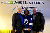 Clemmie Perry honored as Lightning Community Hero