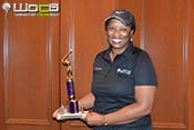 Annual Scholarship Golf Tournament. Clemmie C. Perry Second Place