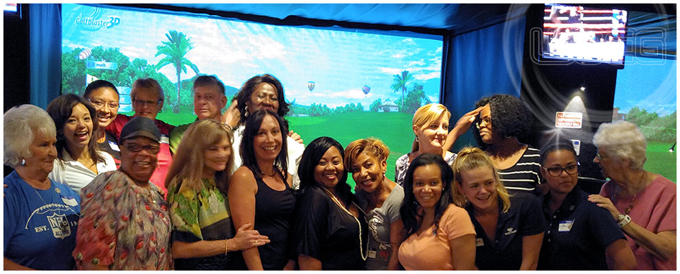 Women Of Color Indoor Golf Clinics